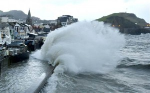 Waves like these at Ilfracombe are likely to become more common Photo: Paul Grover/Telegraph